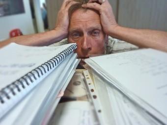 Большинство россиян испытывают стресс на работе