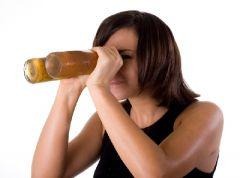 Потребление алкоголя негативно скажется на зрении