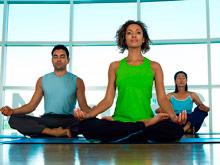 Йога поможет устранить психоз