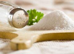 Соль может навредить при рассеянном склерозе