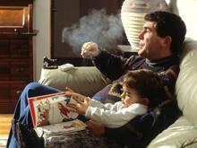 Табачный дым вызывает психические отклонения у ребенка