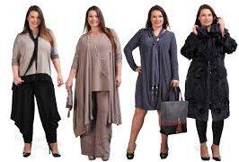 Одежда для больших женщин