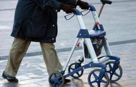 Особенности устройства ходунков для пожилых людей