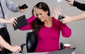 Женщины больше страдают от рабочего стресса