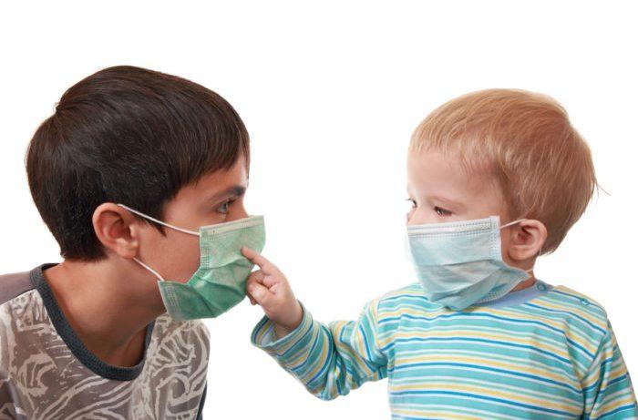 Как вести себя ребёнку в сезон простуд