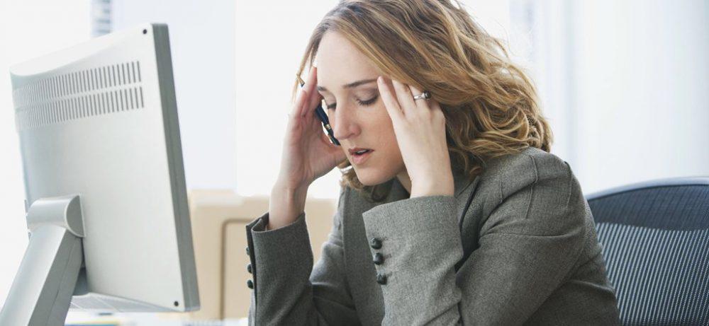 Стресс на работе может производить такой же эффект, что и пассивное курение