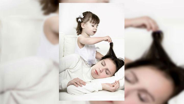Депрессия беременной женщины влияет на качество сна будущего ребёнка вплоть до школы