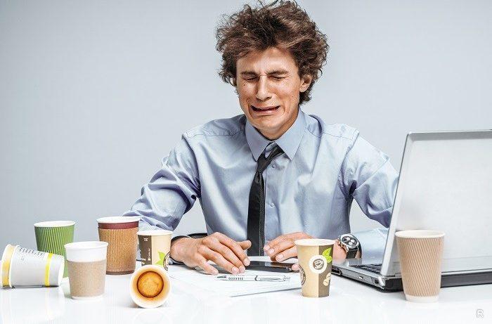 Стресс на работе могут вызывать различные причины и с ним нужно уметь справляться