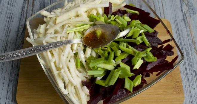 Какие блюда можно приготовить из зеленой редьки