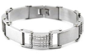 Мужские стальные браслеты