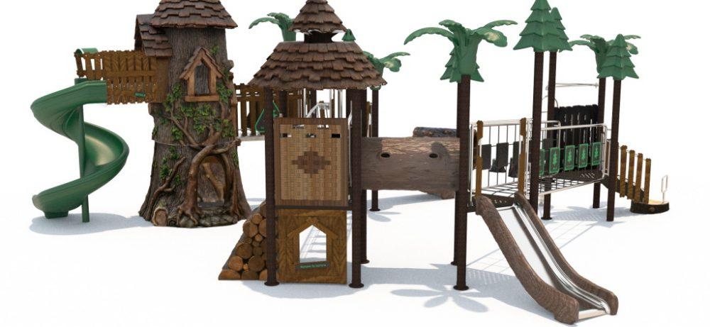 Детские и спортивные площадки от компании «Вивана»